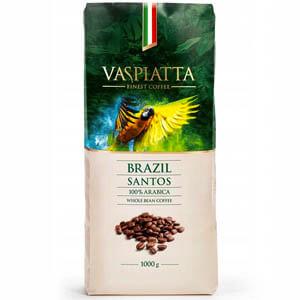 Kawa ziarnista Vaspiatta Brazil Santos Arabica