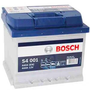 Akumulator do samochodu Bosch S4 001 (44Ah 440A) (P+)