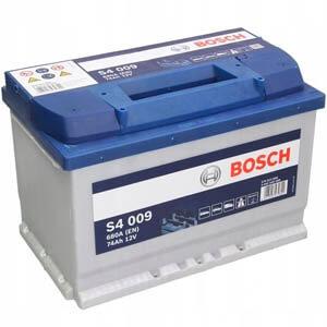 Akumulator samochodowy Bosch Silver S4 (74Ah 680A) (P+)