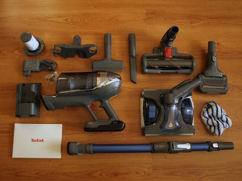 Wszystkie elementy odkurzacza Tefal X Force Flex 1160