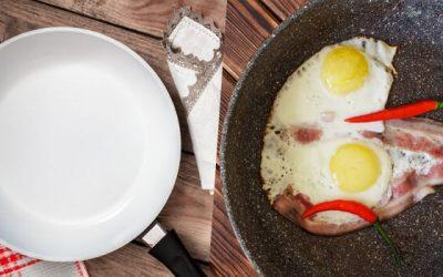 Patelnia granitowa czy ceramiczna