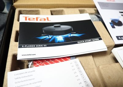 Dokumentacja odkurzacza Tefal X-Plorer Serie 95