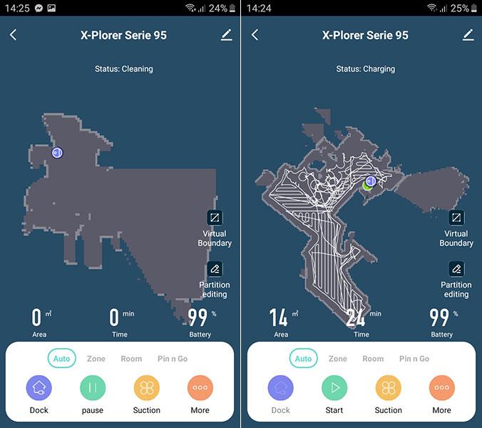 Minusy aplikacji Tefal X-Plorer Serie 95