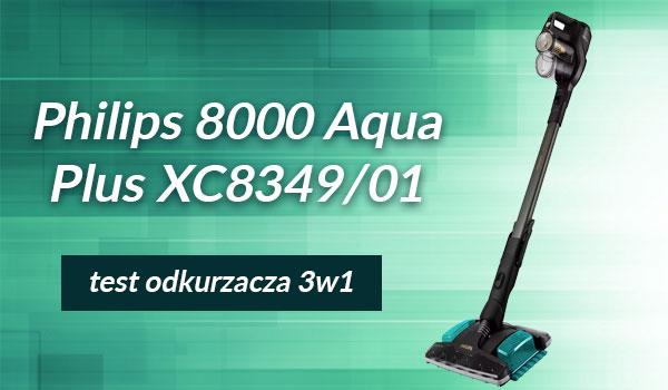 Odkurzacz Philips 8000 Aqua Plus XC8349/01